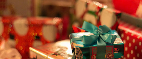 Don't miss the wrapping!